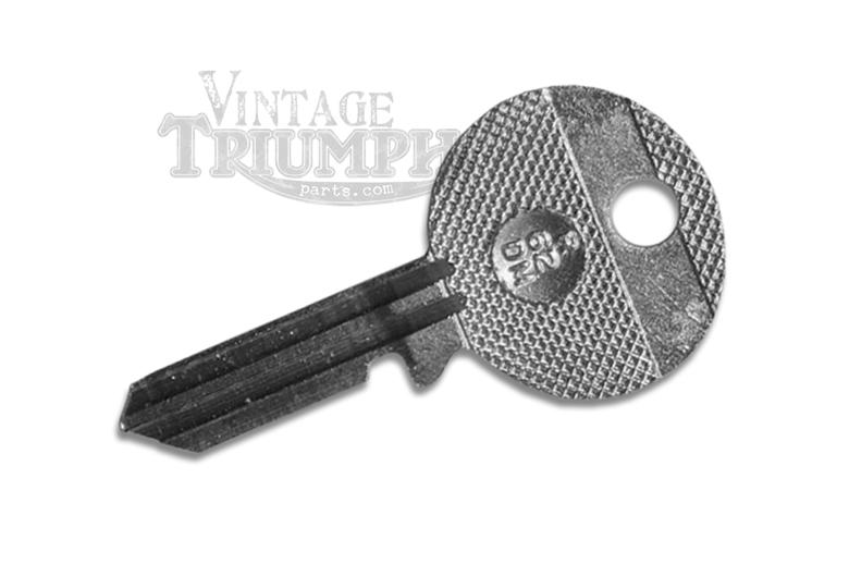 Triumph Motorcycle Fork Lock Key - Blank