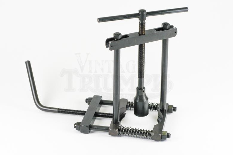 Bearing Puller Parts : Main crank bearing puller vintage triumph parts