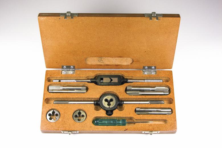 Tap & Die Set CEI 26tpi - Wooden Case