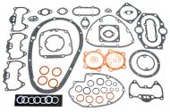 Gasket Set - Full Engine Kit. Contains all Gaskets, O\'Rings And Copper Washers To Rebuild Any Year Of Triumph 650 Unit Twin. Fits Triumph Models TR6 Trophy 1963-1972, T120 Bonneville 1963-1972