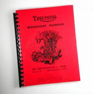 This is the factory repair manual for the 1963-65 T120.