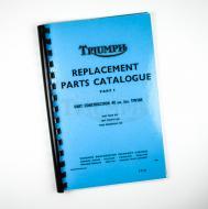 1972 triumph bonneville parts manual