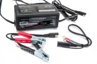 This is a 6 volt or 12 volt fully automatic detecting battery trickle charger and maintainer.