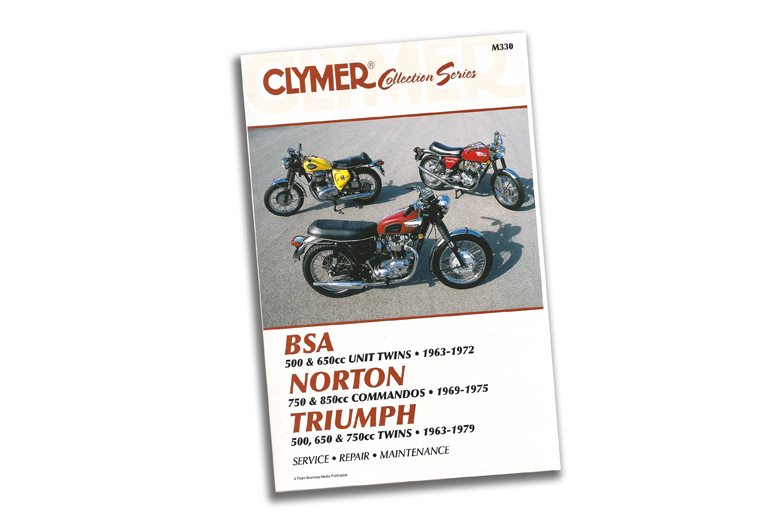 Manual - Vintage British Street Bikes. Clymer Manual Covers Triumph 500-750 Twins 1963-1979, BSA 500-650 Twins 1963-1972 And Norton Commandos 1969-1975.