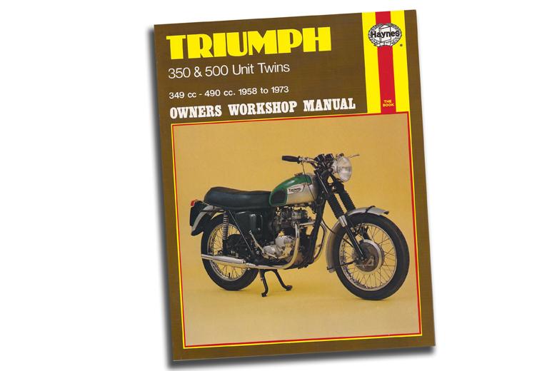 Manual - Triumph 350-500 Twins 1958-1973.