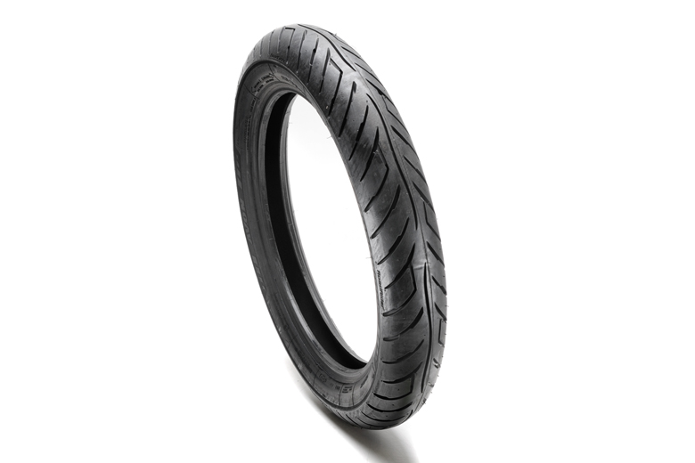 Tire, Front/Rear - 110/90-18 AM26 Avon Roadrider.