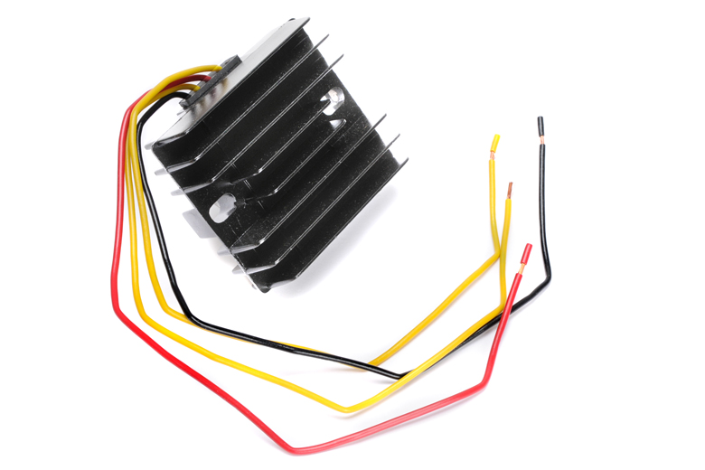 Regulator/ Rectifier Unit -  Single Phase 12volt 200watt. Replaces Problematic Zener Diode And Lucas Rectifier For Even Reliable Charging.