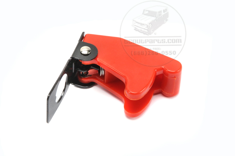 switch Cover -Safety - Red Toggle switch