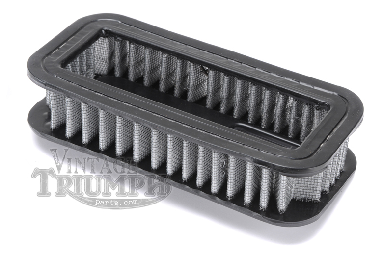 Air Filter - To Fit Stock Air Box On Triumph Models TR7 Trophy & T140 Bonneville 1976-1983