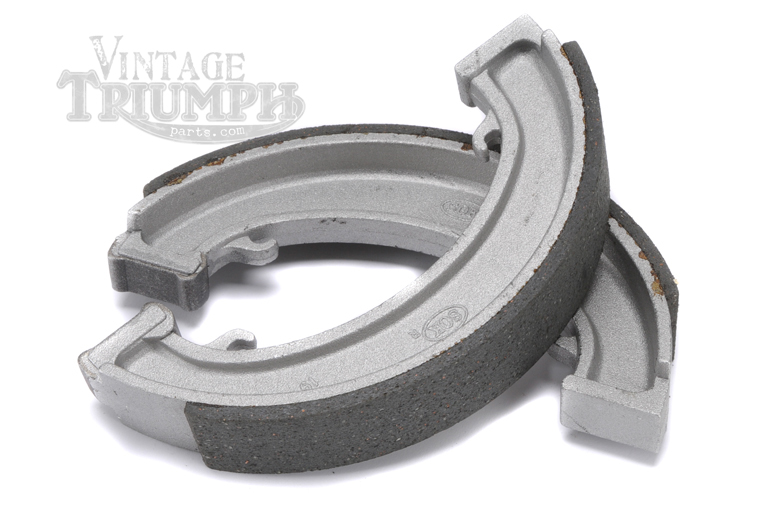Brake Shoe Set - Front/Rear. Fits  Triumph Models From 1947-1970.