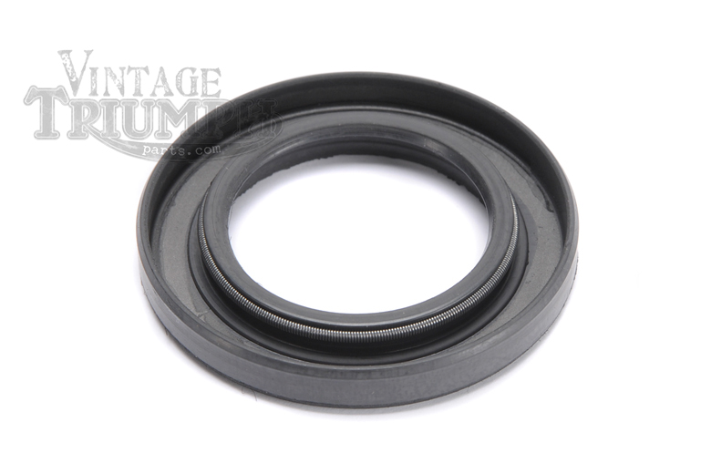 Oil Seal - Countershaft, Triumph 4 Speed Gearbox. Fits Triumph 650 Twin Models TR6 Trophy 1963-1970, 6T Thunderbird 1963-1966, T120 Bonneville 1963-1972. Note: Does Not Fit 5 Speed Gearboxes As Installed On Some 1971 & 1972 Models.