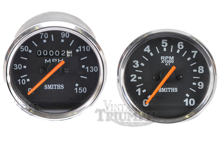 Smith reproduction gauges NEW Tach and Speedo combo