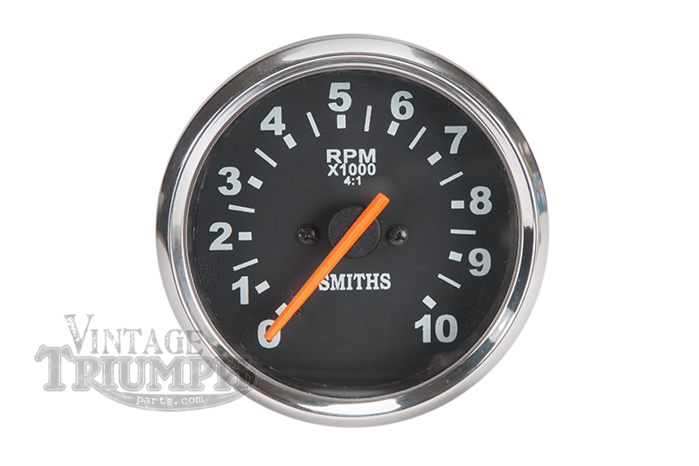 Tachometer gauge - Triumph & BSA Smiths replica NEW