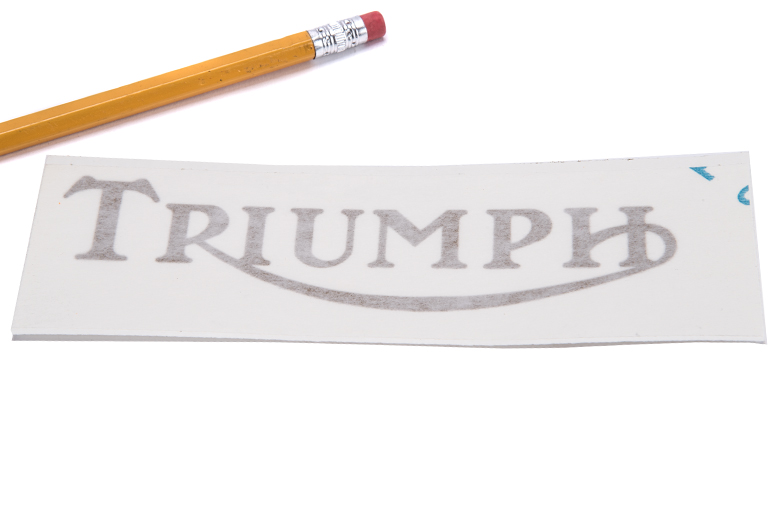 Tank Side Decal (Triumph) Gold