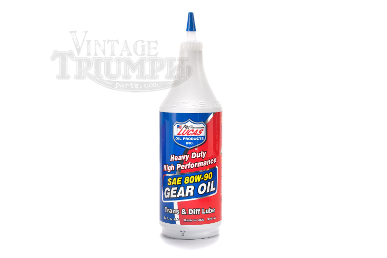 90 Weight Gear Oil For Triumph Transmissions