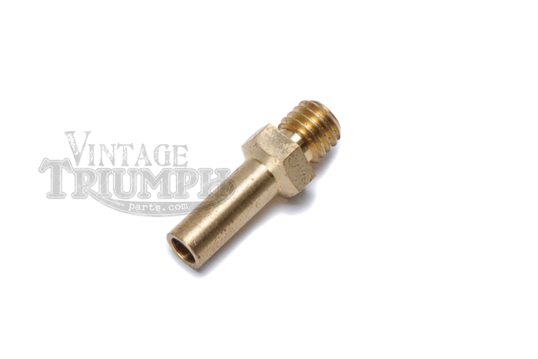 Needle Jet #105 - Genuine Amal. Correct For Monoblock Style Carburetor. OEM For Triumph Models T20SM Mountain Cub 1965-1967, T21 Twenty One 1957-1962, 3TA Twenty One 1963-1966, 5TA Speedtwin 1958-1965.