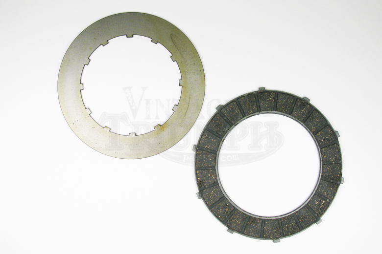 Clutch Plate -Singles-Friction-Alloy