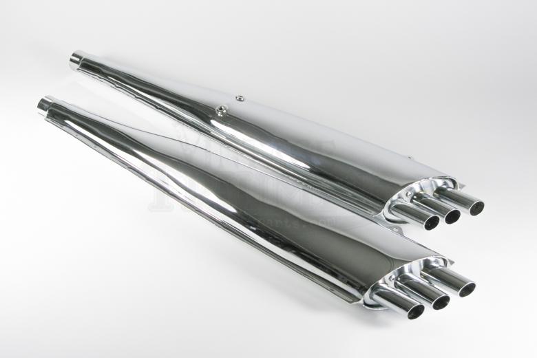 Muffler SET T150/Rocket