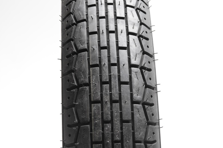 Tire - 3.50H19 Continental TK22 Front. Vintage Style Tire To Fit Triumph Models Made After 1968