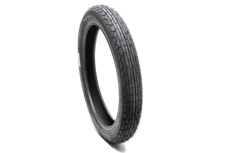 Tire - 3.25H19 Continental Twin RB2, Front