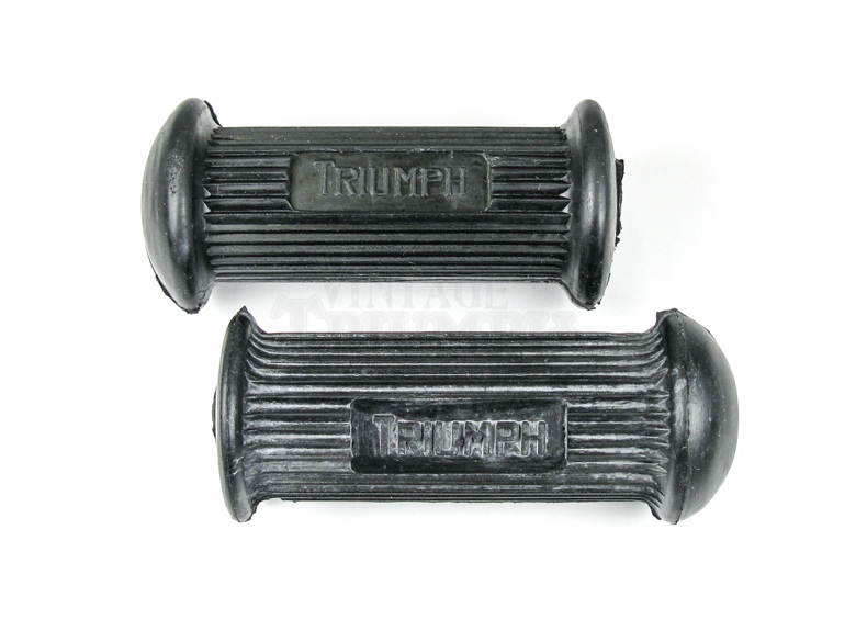 Foot Peg Rubber T120R Rider front pegs.