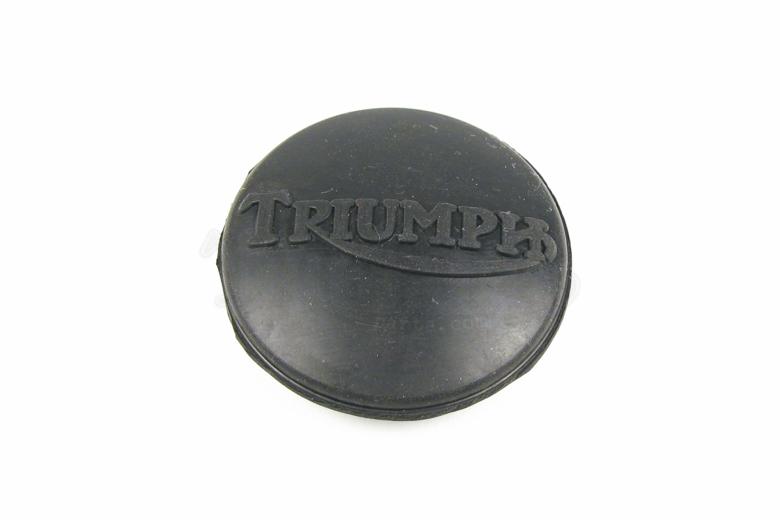 Fuel Tank Top Plug - Triumph Logo