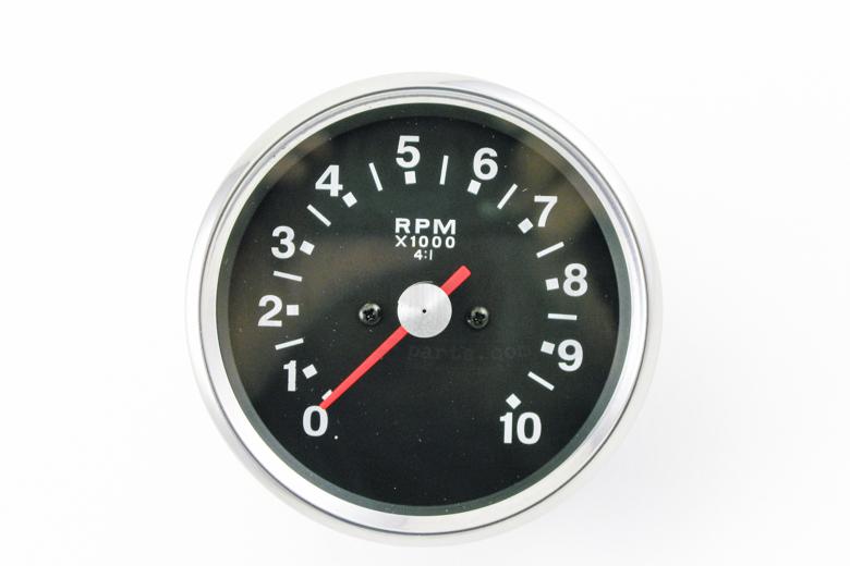 Tachometer- Black 4:1