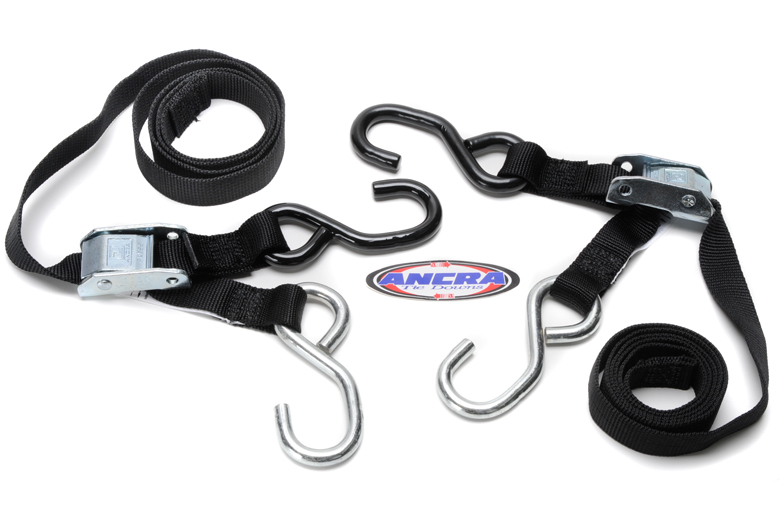 Tiedown - Black. Ancra Lites. High Quality Lightweight 1