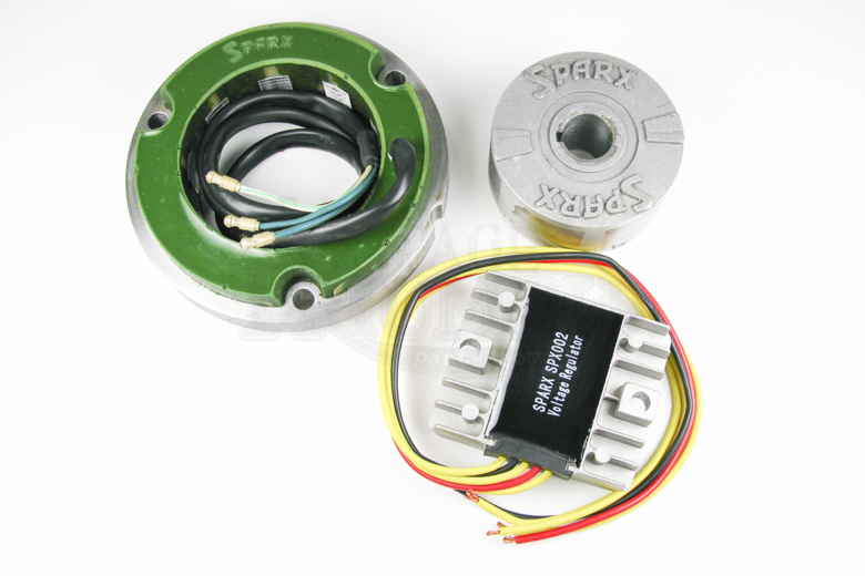 Lucas 3 Phase Alternator Kit 12v 200w