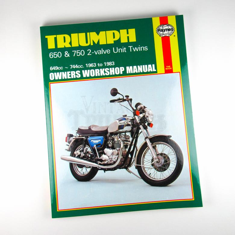 Haynes Manual 650750 1963 82 Vintage Triumph Parts