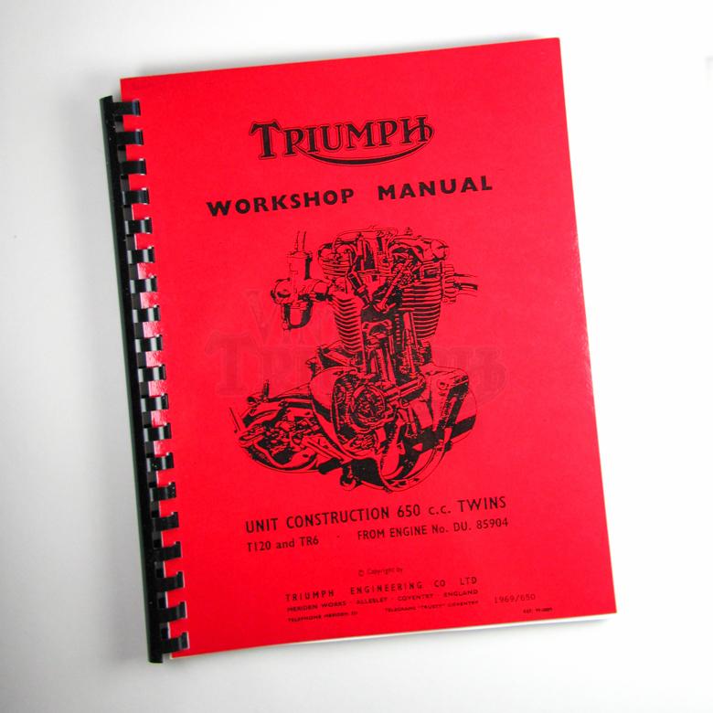 Factory Manual TR25W 1970