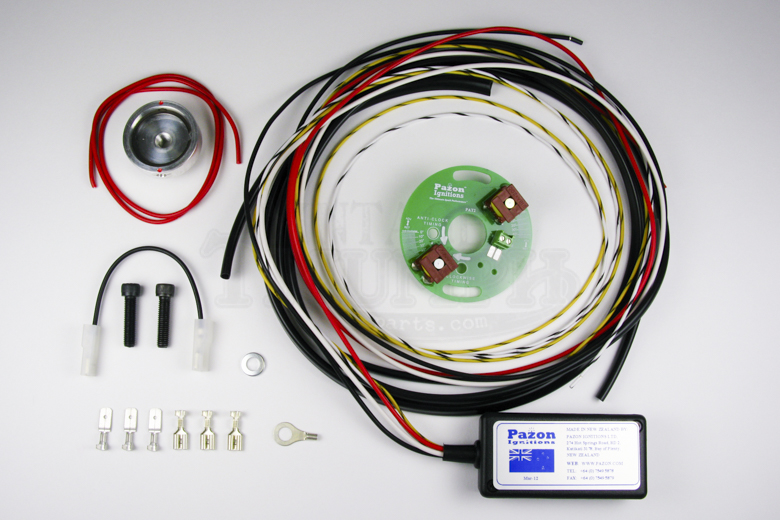Paxon Ignition System - Singles 12v