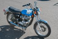 Second owner 1973 Triumph,  Matching serial numbers, Vin CH294465.  engine and frame.  Even have the original title. Original tool kit and owners handbook.  Original paint.   10,400 original miles.  Physically located in Portland Oregon.  Changes that have been made are;  It was originally a Tiger one carburetor and now it is a Bonneville two carb set up. I have all original parts and air cleaner box. Custom Exhaust,  1973 T140 head, Amal 930 Carbs with 106 jets and OEM Studs, Nuts Seals, insulators, Retro side covers , Retro style pancake air filters. new full engine set of gaskets and seals. Glass beading & surfacing of the Bonneville head with new Kibblewhite Black Diamond valves and guides fitted and seated by Lyon's Technical Machine. .  New throttle cable assembly. new clutch cable clutch push rod, clutch pressure plate adjustment screw.  Clutch drum and hub wear notches machined ,  New stainless steel front brake master cylinder. Brake caliper rebuild with new seals and EBC pads.  new 12N9-4B-1 Battery,  New OEM style fuel tank petcocks and fuel lines ,  New foot pegs, shifter, kick starter and center stand rubbers.   The sale includes: Clear title in my name.  Original 1973 title from original owner. Original Tiger head with valves and springs, Amal Single Carb air box assembly with air filter. This bike has always been garaged  and as a result the tires have light checking along the side walls but perform perfectly .  They are Continentals with near new tread depth.  The work described above has produced a strong running sweet sounding good looking machine.   I will demonstrate bike.   I will not allow a buyers test ride.  You can ride it after you buy it.